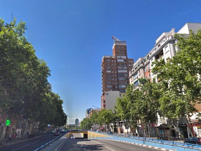 Cortado el tráfico en Francisco Silvela y el túnel de José María Soler
