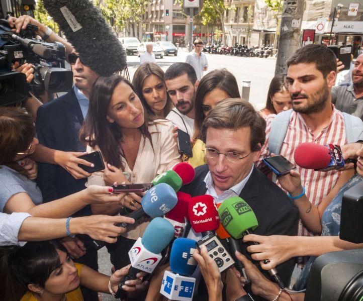 Almeida niega división por Madrid Central: PP y Cs firmaron