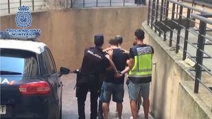 Imagen de uno de los arrestados por Policía Nacional en Móstoles y Valladolid por el robo de más de 40 viviendas.