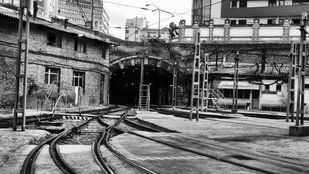 Abre el taller de chapa y pintura de los tranvías, las cocheras de Magallanes