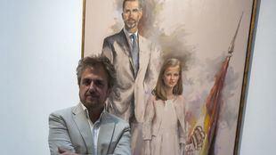 Ricardo Sanz expone en la Casa de Vacas su último trabajo