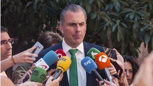 Javier Ortega Smith, en una rueda de prensa.
