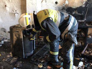 Fallece una mujer tras producirse un incendio en su bloque en Ciempozuelos