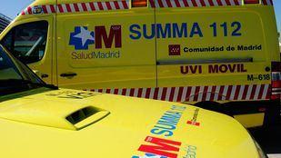 Ambulancias del Summa en una foto de archivo.
