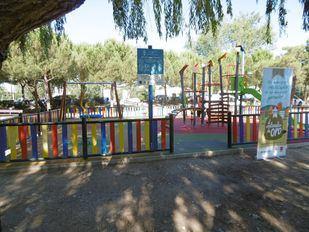 El nuevo parque infantil de Mr. Iglú en Collado Villalba