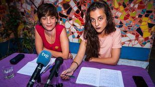 Laura y Serlinda, integrantes de La Ingobernable.