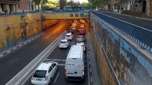 Colapsado el entorno del túnel de Francisco Silvela por la segunda fase de las obras