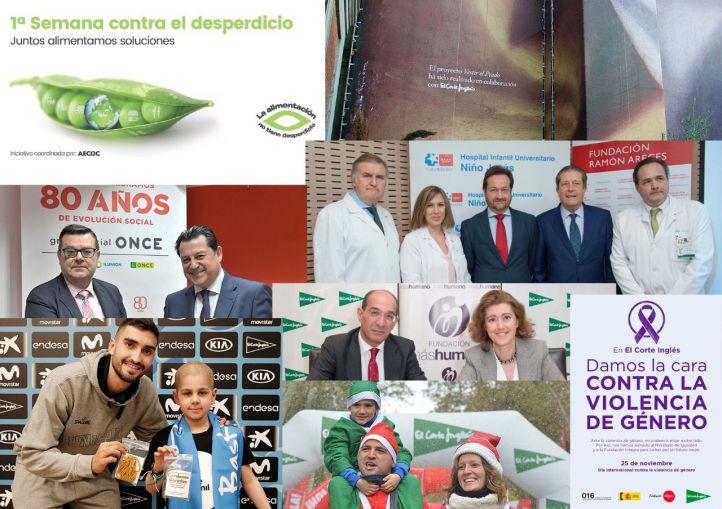 El Corte Inglés organiza más de 6.000 acciones y proyectos sociales, culturales y deportivos en 2018