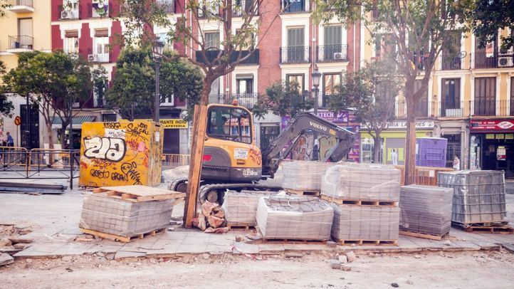 La obras en Lavapiés y el Dos de Mayo empezaron hace unos días con un plazo de seis y tres meses respectivamente.