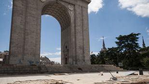 Arco de la Victoria, en Moncloa.