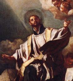 San Cayetano, en un óleo de Francesco Solimena