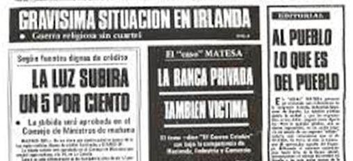 El editorial del caso Matesa: el escándalo que sacudió al franquismo