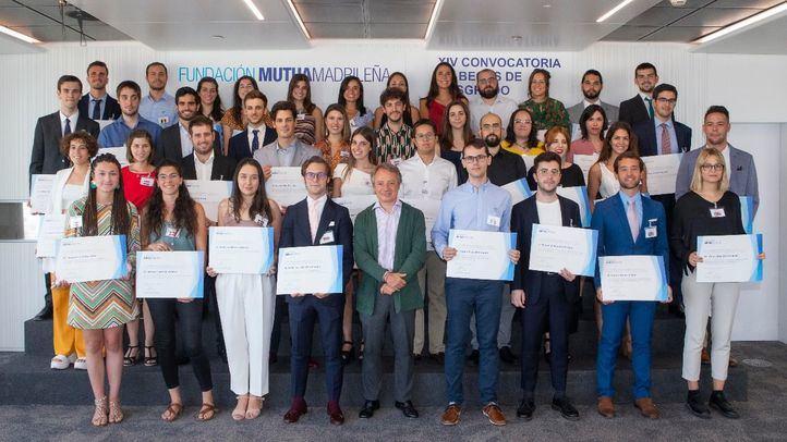 La Fundación Mutua Madrileña concede 43 becas de posgrado para ampliar estudios en el extranjero