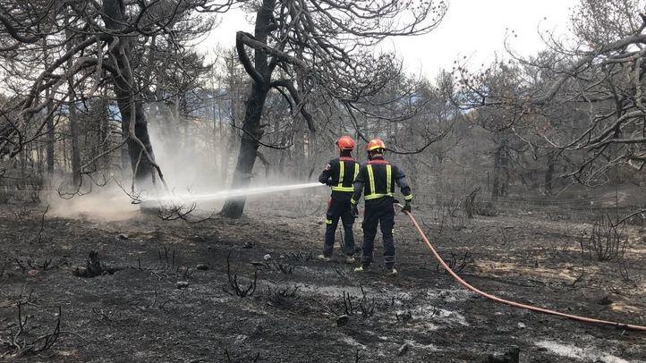 Controlados los incendios de Miraflores y La Granja