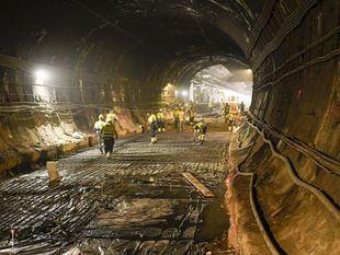 Las obras del túnel de Recoletos, a buen ritmo