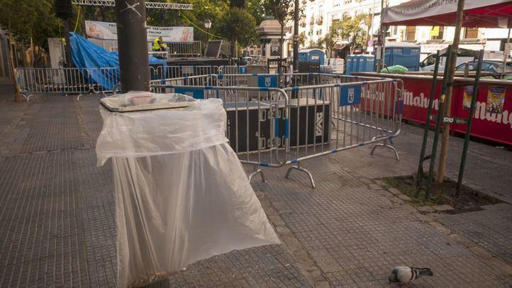 Madrid estrena papeleras para los grandes eventos