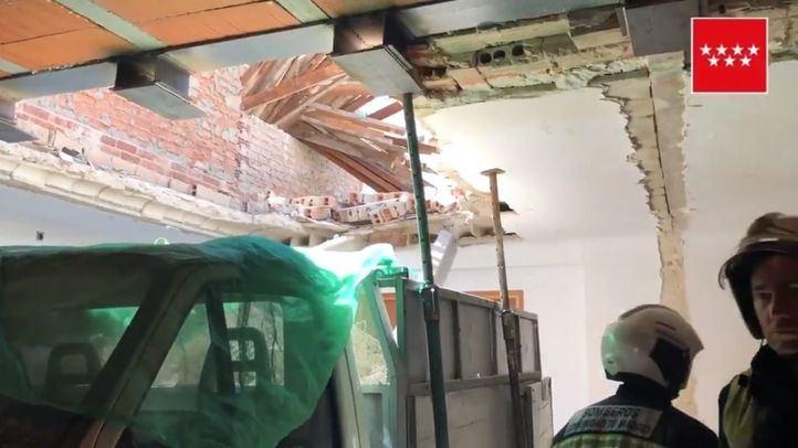 Fallece un hombre y otro resulta herido por el desprendimiento de un muro en San Fernando de Henares