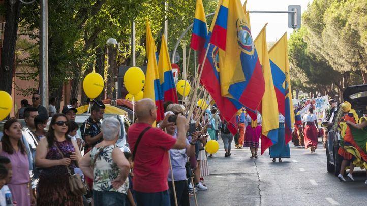 La independencia de Ecuador se celebra en Ciudad Lineal