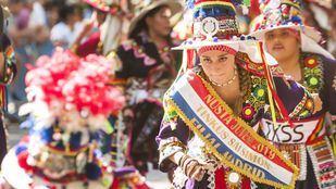 Alrededor de 3.000 personas han participado en el evento de celebración de la Virgen de Urkupiña.