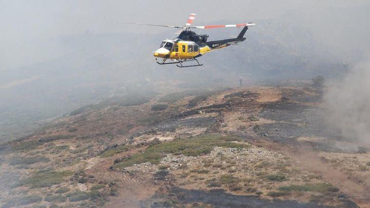Arranca la recuperación de las zonas afectadas por el fuego en El Berrueco, Rascafría y Miraflores