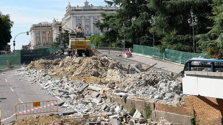 Adiós al paso elevado de Plaza de España