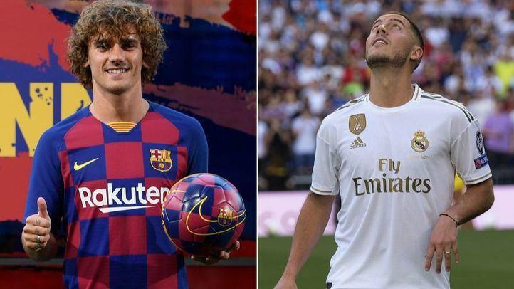 Real Madrid y Atlético de Madrid, los reyes del mercado de fichajes
