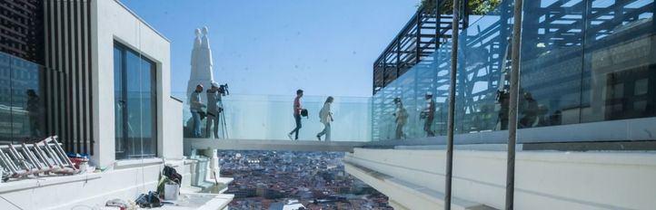 Apertura parcial del hotel RIU Plaza España: ya se puede dormir en el emblemático edificio