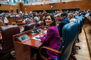 Díaz Ayuso, en el primer Pleno de investidura de la Legislatura, que se celebró en julio sin candidato.