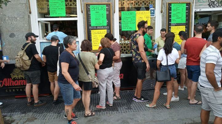 Las fiestas de La Paloma tomarán el relevo a San Lorenzo a partir del día 14 y hasta el 18, cuando terminan los festejos del distrito Centro.