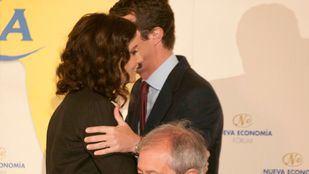Ayuso y Casado en un acto de la pasada campaña electoral.