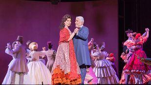 Representación de 'Doña Francisquita', en el Teatro de la Zarzuela.