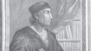 Retrato de Elio Antonio de Nebrija.