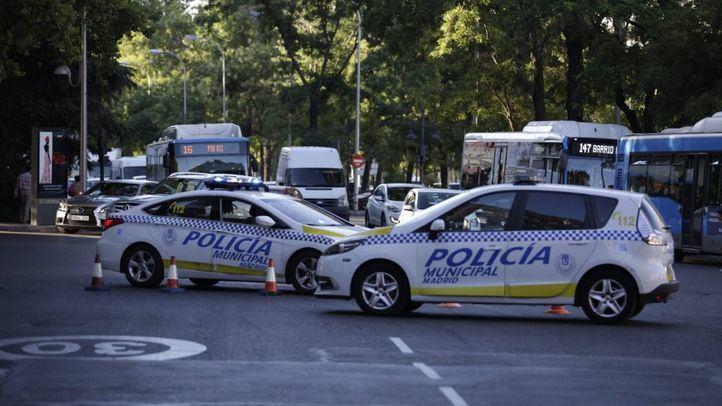 Cortes de tráfico en La Latina
