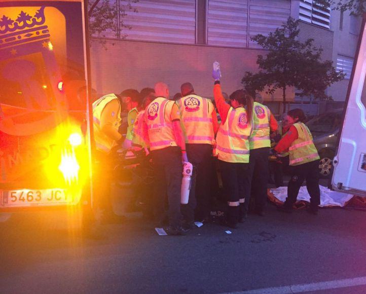 Atropello múltiple en Moratalaz: tres heridos y fuga de los responsables