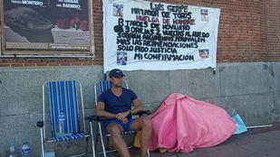 Luis Gerpe, en la plaza de Las Ventas.
