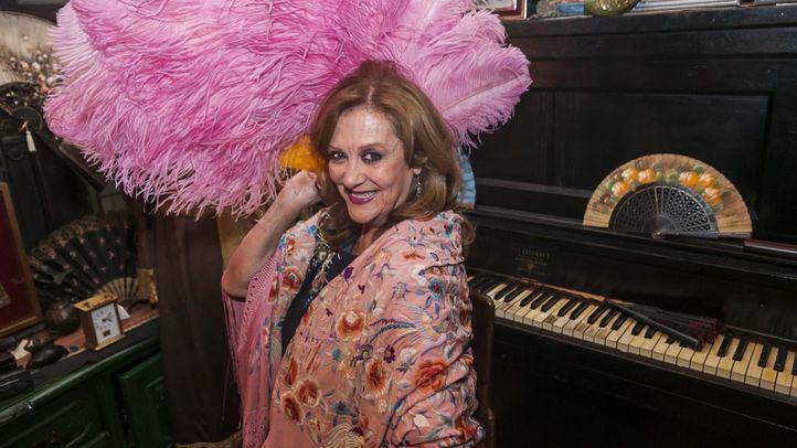 Olga María Ramos, cupletista, celebra sus 30 años en Las Vistillas.