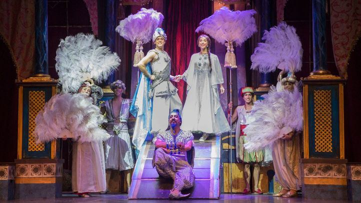 El musical Aladdín vuelve a Madrid