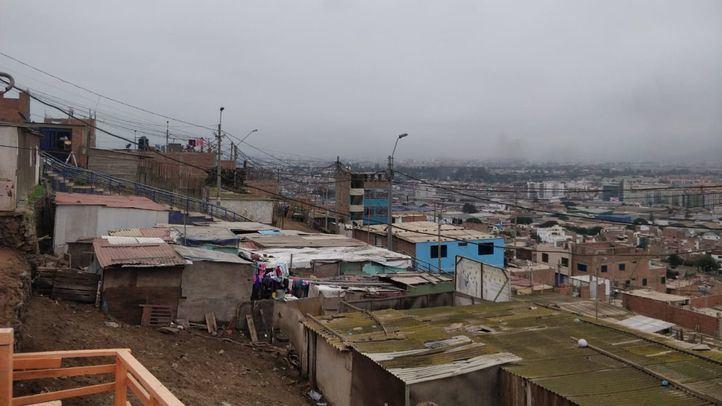 Los cerros de Chorrillos, en Lima.