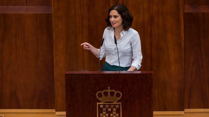Pleno de Investidura de Isabel Díaz Ayuso.