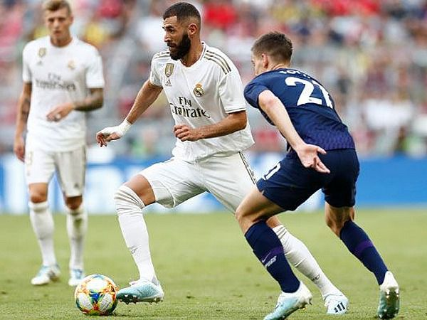 Jugadores del Real Madrid.