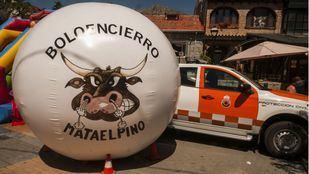 Nueva bola para los Boloencierros de Mataelpino.