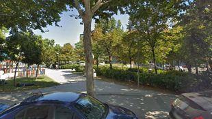 Plaza del Amanecer, donde tuvieron lugar los hechos