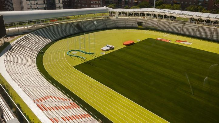 El renovado Estadio de Vallehermoso, listo para ser inaugurado.