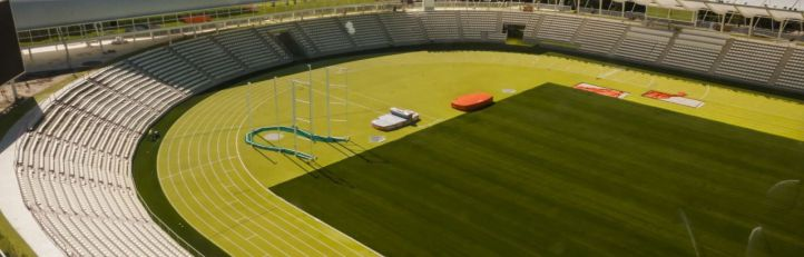 Comienza la cuenta atrás para el estreno del Estadio de Vallehermoso
