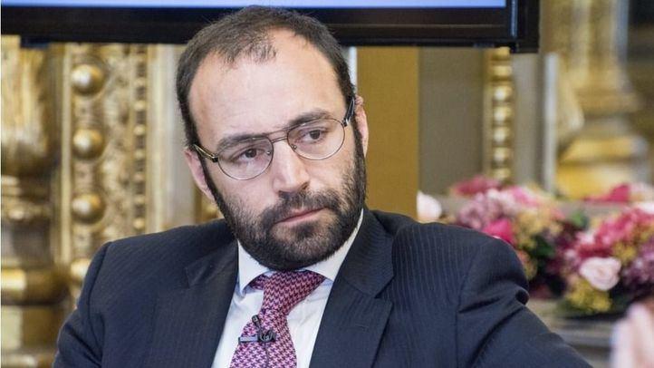 Manuel Giménez, consejero de Economía (Cs)