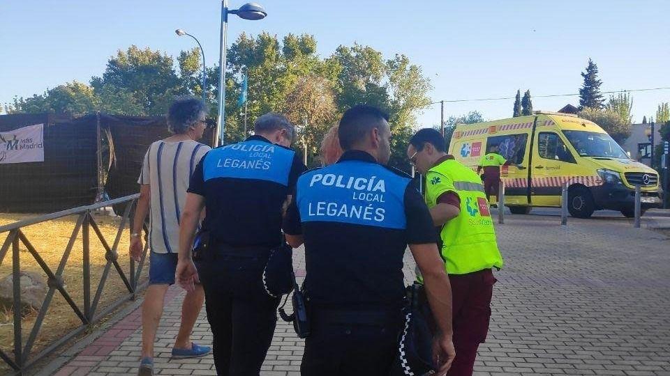 Agredida una de las militantes de Más Madrid Leganemos