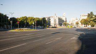 En agosto, los madrileños se van y los turistas no vienen: así es el Madrid vacío