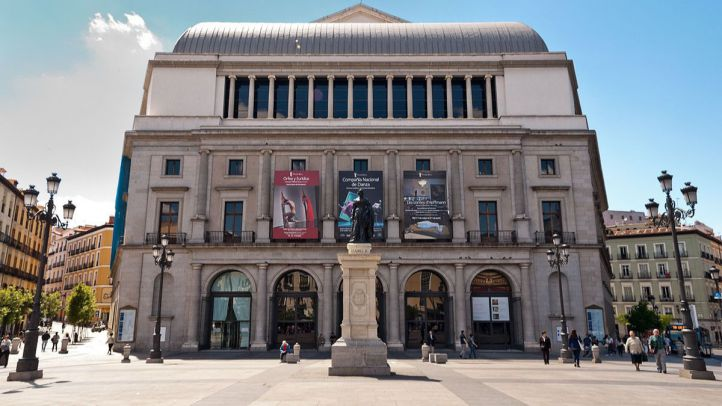 Teatro Real. Plaza Isabel II