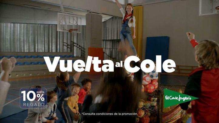 El Corte Inglés lanza 'La Vuelta al Cole' con más financiación y facilidades para las familias