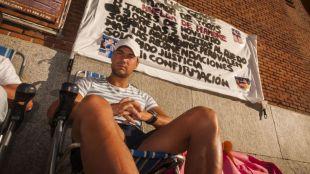 El torero Luis Gerpe permanece desde el pasado 8 de agosto en huelga de hambre.
